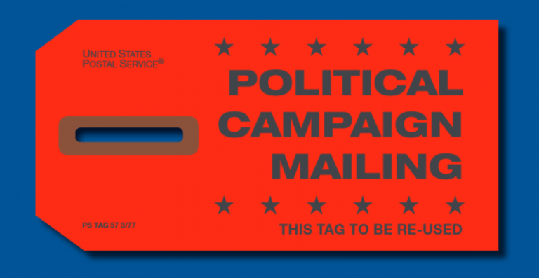 Red Tag Political Mail
