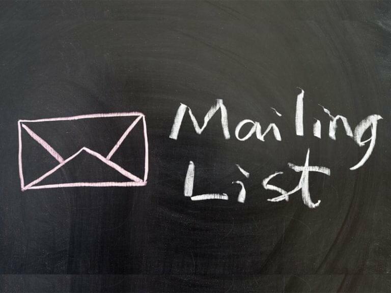 Mailing Address List