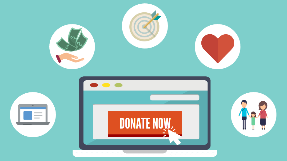how can i get donations online