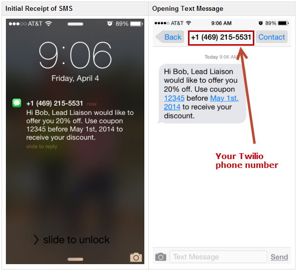 how to send sms messages with marketing automation