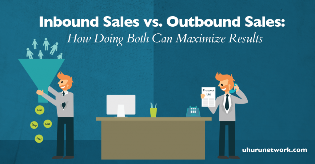 inbound sales vs outbound sales how doing both can maximize results v2