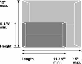 USPS Flat Size Mail Dimensions, Minimum and Maximum